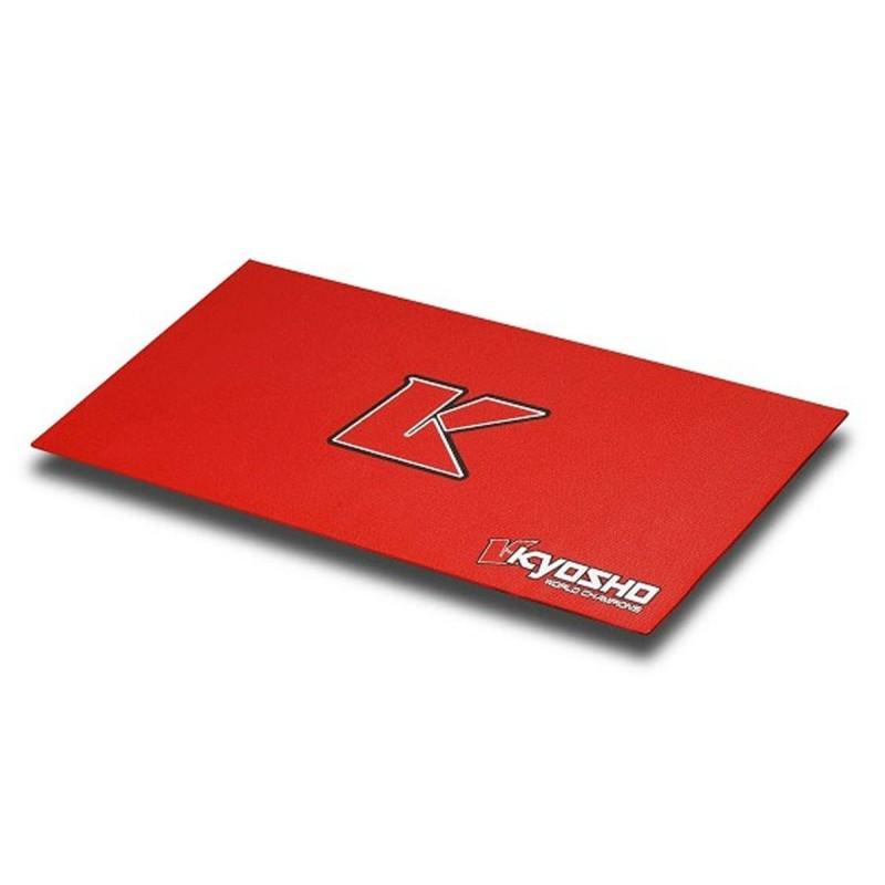 KY-80823R Tappeto Pitmat Big K 2.0 - Rosso (61x122cm)