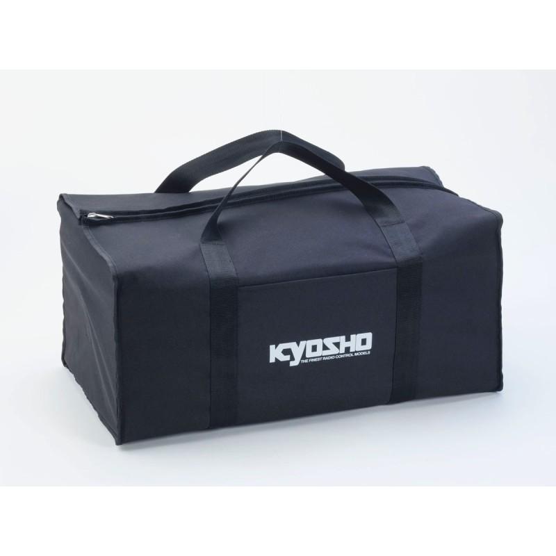 KY-87618 Borsa Kyosho Nero (TELA) 320X560X220MM