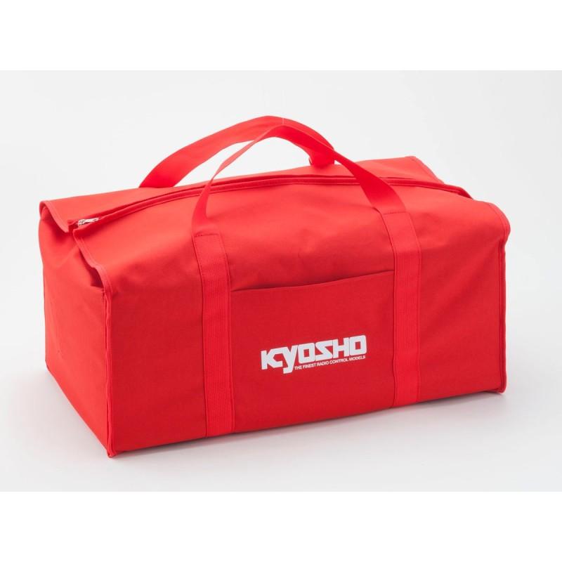 KY-87619 Borsa Kyosho Rossa (TELA) 320X560X220MM