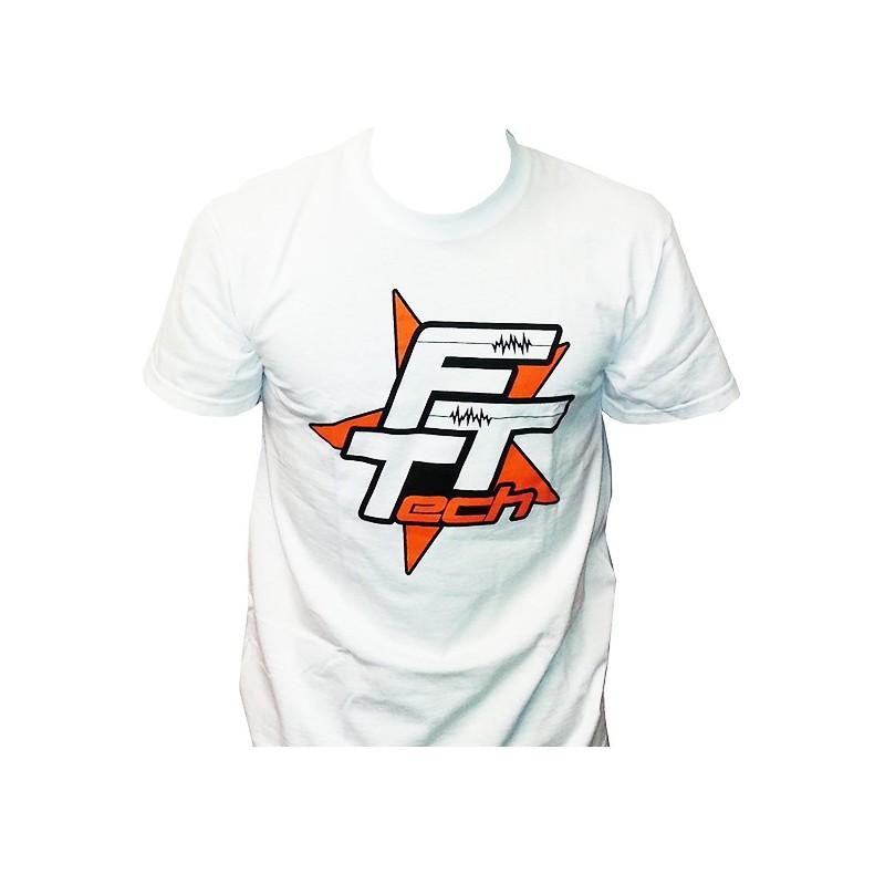 FTT-TSHIRT Maglietta FTTech bianca